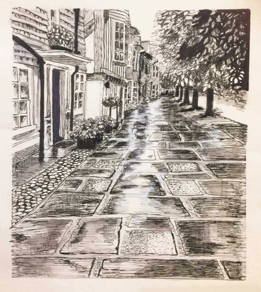 Causeway-Pen-and-Ink