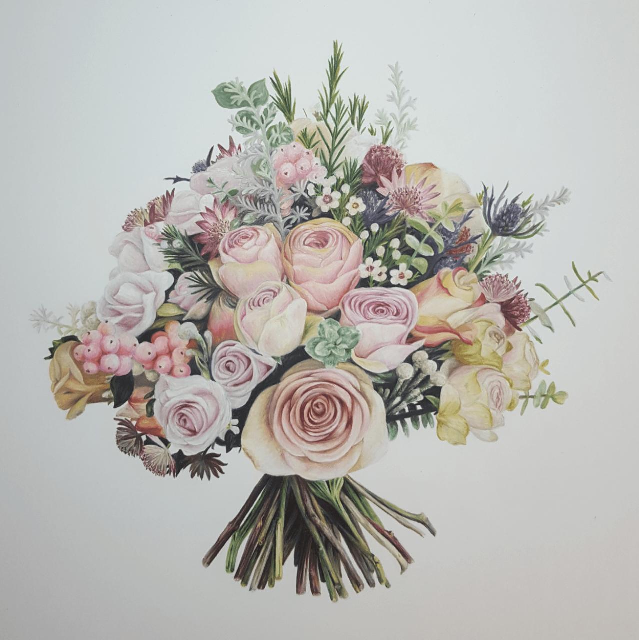 The Oak & The Owl bouquet