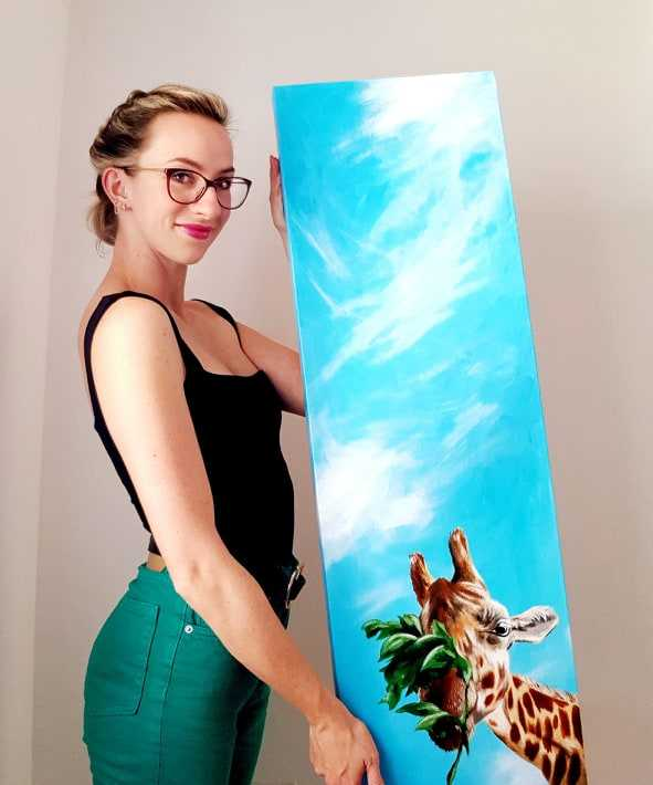 Tall Paintings